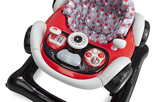 Delta Children Lil' Drive Baby Activity Walker 7