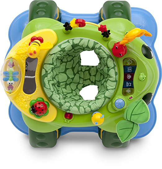 Delta Children Mason the Turtle Lil' Play Station 3-in-1 Activity Walker 5