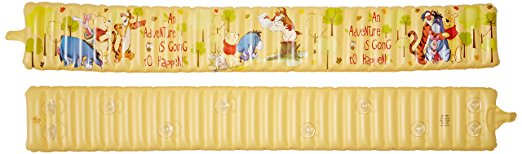 Disney Winnie the Pooh Inflatable Safety Bathtub Bumpers, Yellow