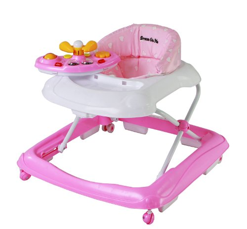 Dream On Me Scout Musical Walker and Activity Center, Pink 2