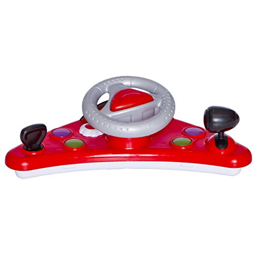 Dream On Me Victory Lane Activity Walker, Red 5