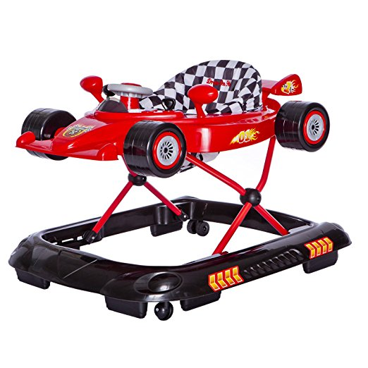 Dream On Me Victory Lane Activity Walker, Red