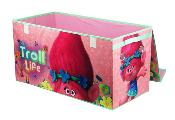 Dreamworks Trolls Collapsible Storage Trunk2