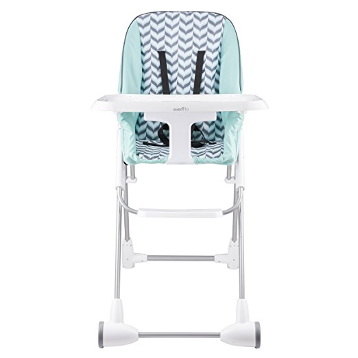 Evenflo Symmetry High Chair, Spearmint Spree 4