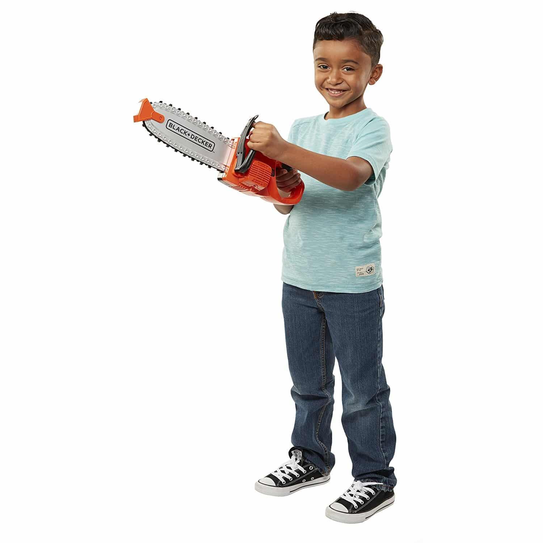 Ferramentas Infantil Brinquedo Black & Decker Moto-serra