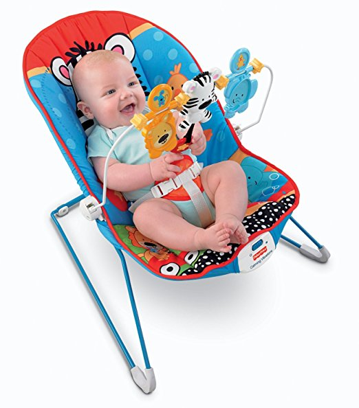 Fisher-Price Baby's Bouncer, Adorable Animals 2