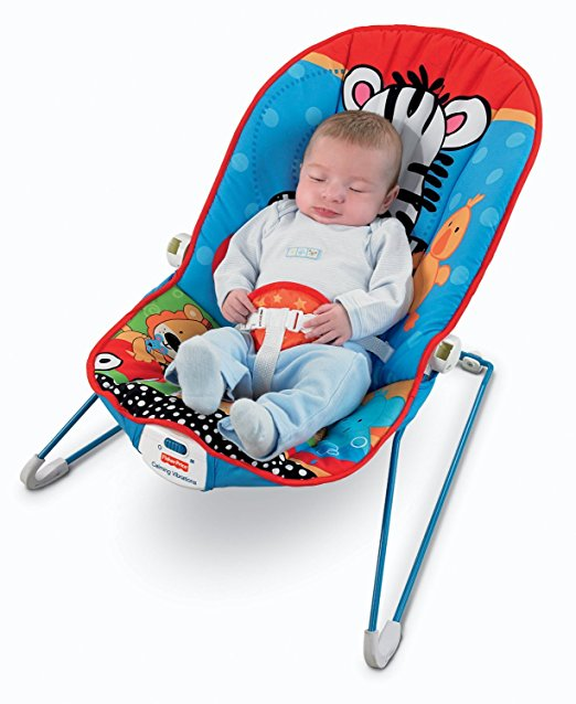 Fisher-Price Baby's Bouncer, Adorable Animals 3