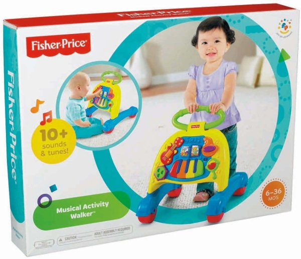 Fisher-Price Brilliant Basics Musical Activity Walker7