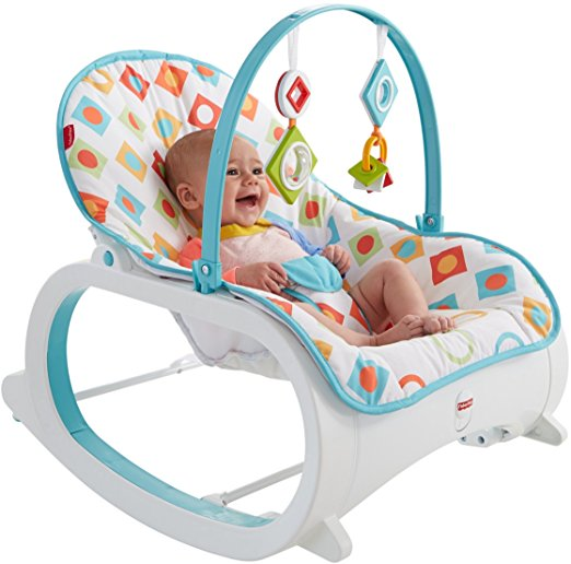 Fisher-Price Infant-to-Toddler Rocker, Geo Diamonds 6