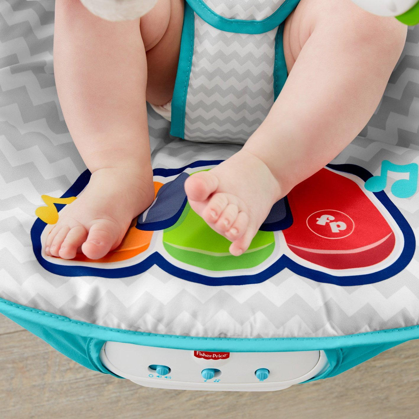 Fisher-Price Kick 'n Play Musical Bouncer 9