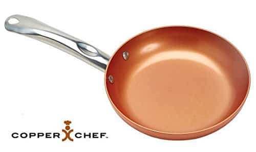 Frigideira Copper Chef 26 cm Copper Chef Round Pan, 10-Inch