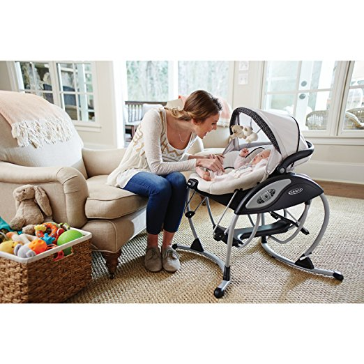 Graco Glider Elite Baby Swing, Pierce 4