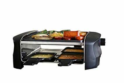 Raclette Milliard Derreter Queijo Para 4 pessoas Antiaderente