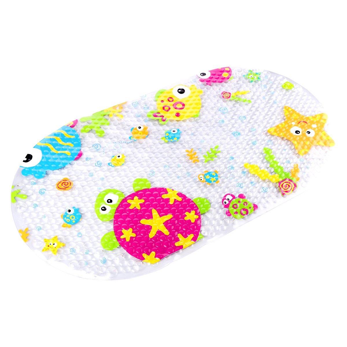 Topsky Baby Non-slip Bath Mat Anti-Bacterial Bathtub Mat