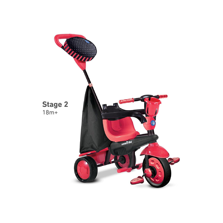 Triciclo para Bebês SmarTrike Spark 4 em 1 Rodas Silenciosas