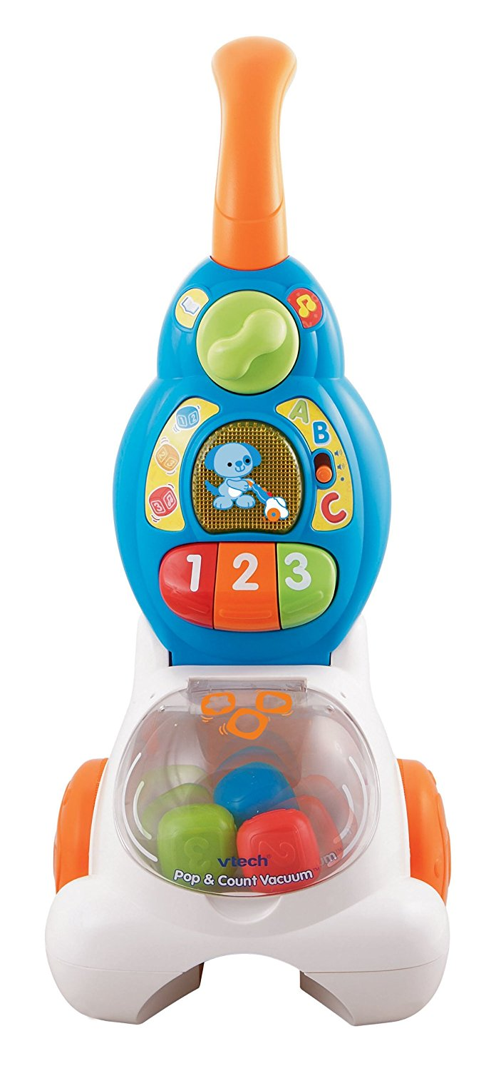 VTech Pop and Count Vacuum Push2