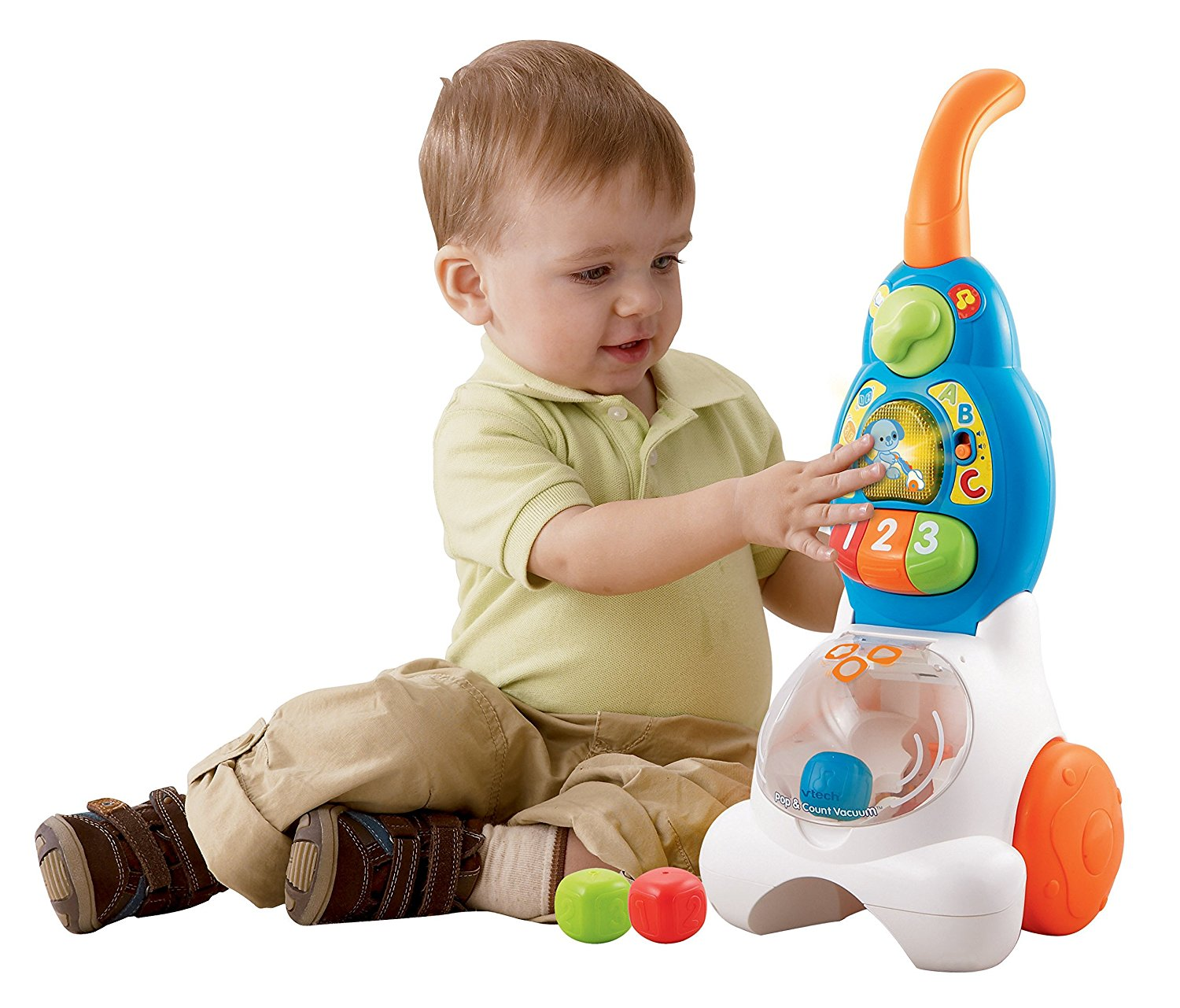 VTech Pop and Count Vacuum Push3