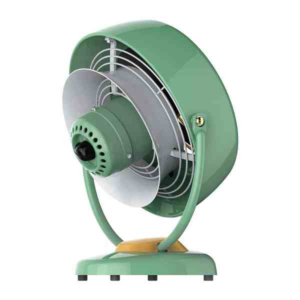 Ventilador Vornado VFAN Verde Retro Nostalgia Vintage Vornado Anos 60 70 CR1-0061-173