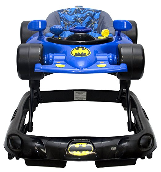WB KidsEmbrace Baby Batman Activity Walker, Car with Music and Lights 2