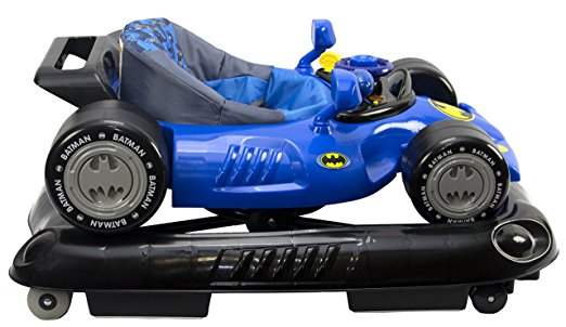 WB KidsEmbrace Baby Batman Activity Walker, Car with Music and Lights 5