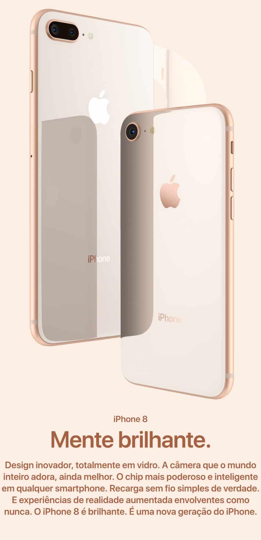 Celular Apple iPhone 8 64 GB Unlocked LIVRE DE TAXAS ALFANDEGARIAS