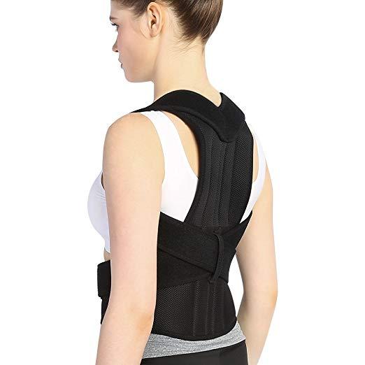 Back Brace Posture Corrector Full Back Support Belts for Upper and Lower Back