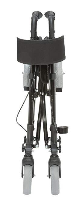 Medical Rollator Walker Euro Style, Compact Foldi3