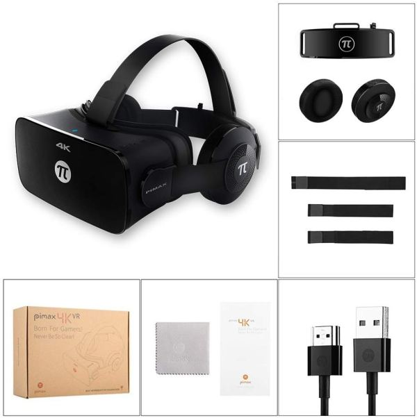 PIMAX 4K Virtual Reality Headset VR Headset 3D VR Glasses for PC Game Video by PIMAX7