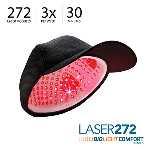 RegrowMD (Dispositivo Médico) Laser 272 Cap. 272 Diodos e design exclusivo BioLight Comfort para um tratamento superior.3