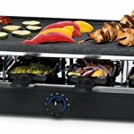 Salton PG1645 8 Person Raclette & Black
