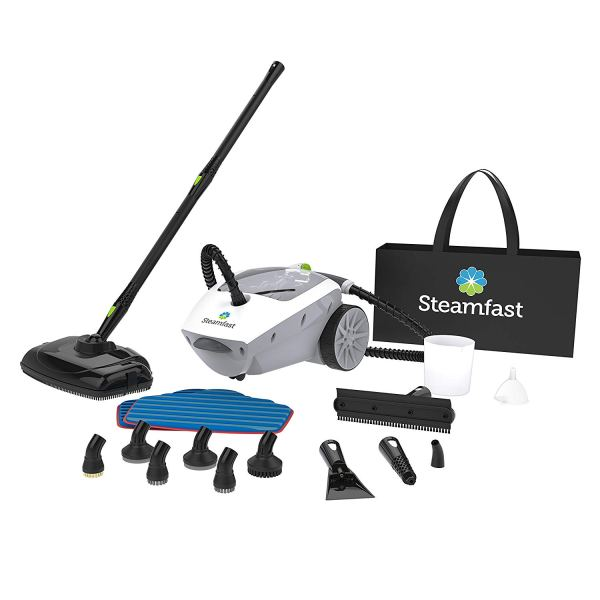 Steamfast SF-375 Deluxe Canister Steam Cleaner with Onboard Storage2