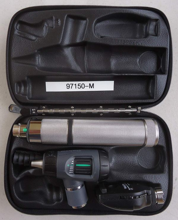 Welch Allyn 97150-M Halogen Hex Diagnostic Set Including Standard Ophthalmoscope,