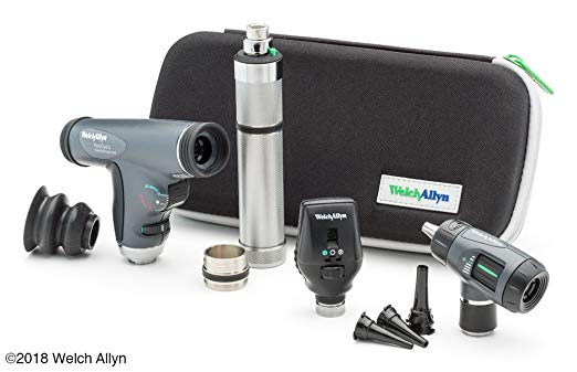Welch Allyn Enhanced Diagnostic Set feat. Coaxial Ophthalmoscope,