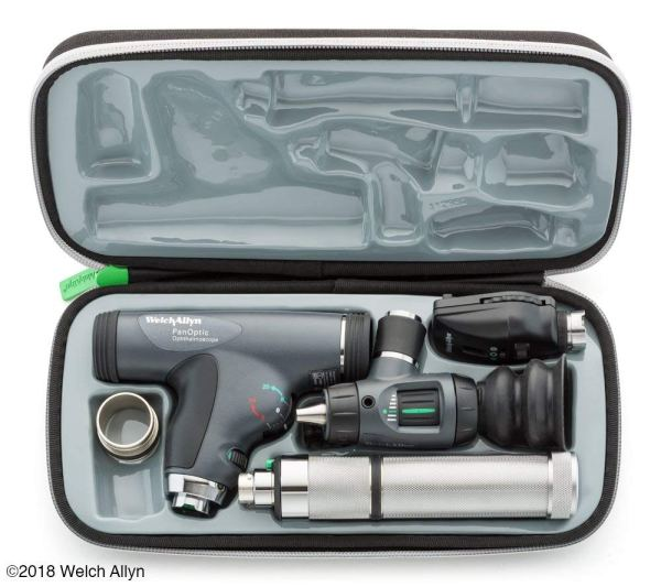 Welch Allyn Enhanced Diagnostic Set feat. Coaxial Ophthalmoscope,2