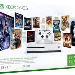 Xbox One S 1TB Console – Starter Bundle by Microsoft