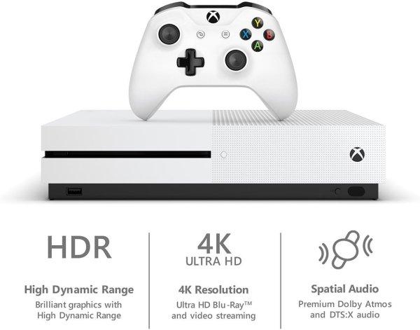 Xbox One S 1TB Console – Starter Bundle by Microsoft3
