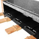Artestia Electric Raclette Grill with High Density Granite Grill Stone,1600W High Powe5