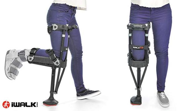 iWALK2.0 Hands Free Knee Crutch – Alternative for Crutches and Knee Scooters – by iWALKFree 2