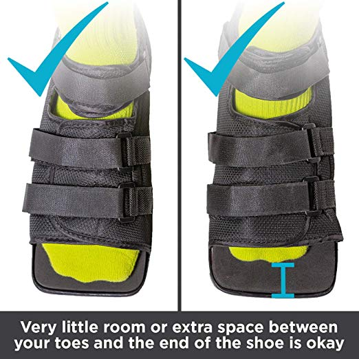BraceAbility Post-op Shoe for Broken Foot or Toes7