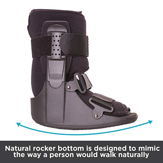 BraceAbility Short Broken Toe Boot3