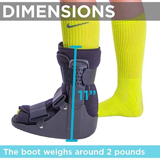 BraceAbility Short Broken Toe Boot4