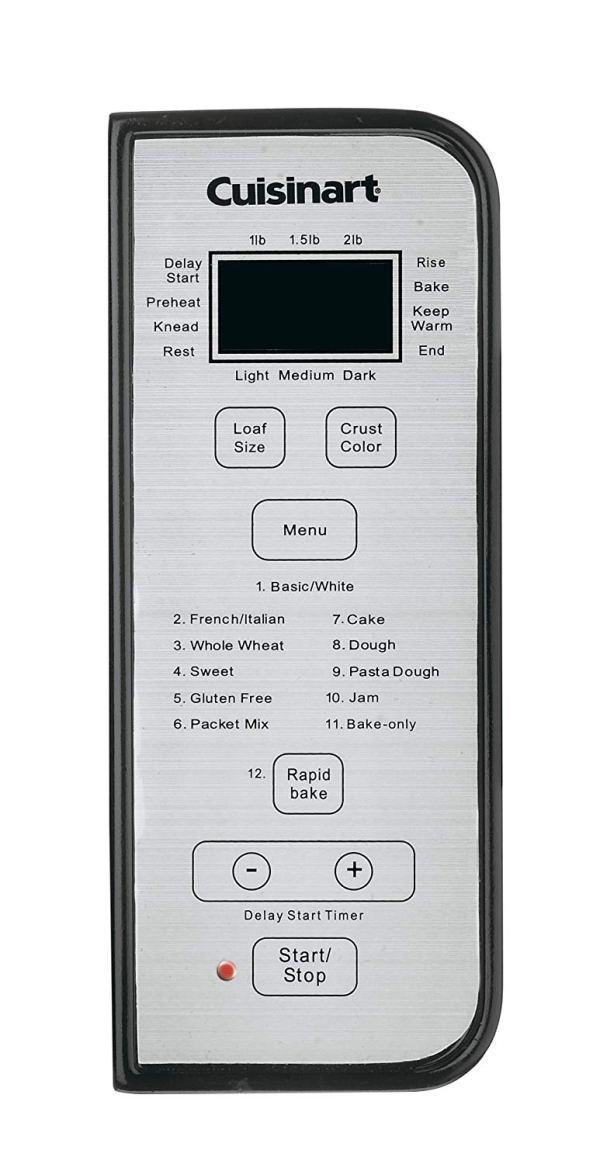 Cuisinart CBK-100 2 LB Máquina De Pão5