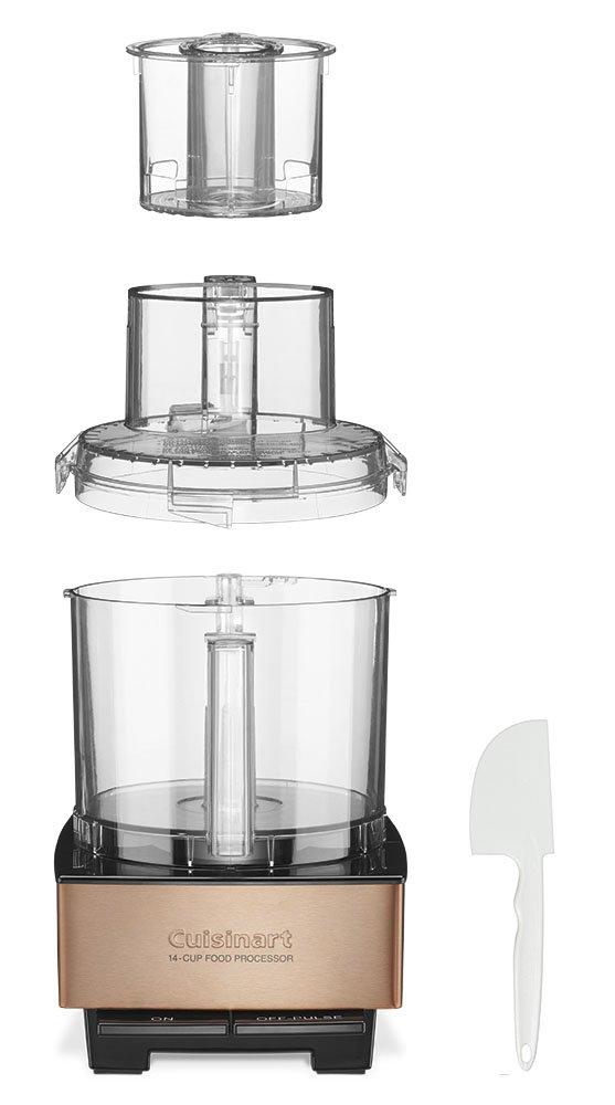 Cuisinart DFP-14CPYAMZ Custom 14 Food Processor Brushed Metal Series – Copper3