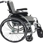 Karman Healthcare S-115 Ergonomic Ultra Lightweight Manual Wheelchair, Rose Red, 18 Inches Seat Width4