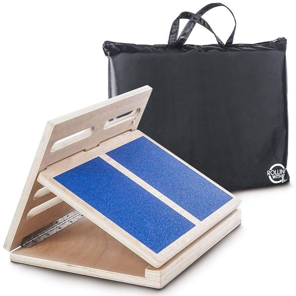 Professional Adjustable Wooden Incline Slant Board