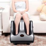 Shiatsu Foot Calf Massager Leg Massager with Kneading Rolling Vibration Heating 2