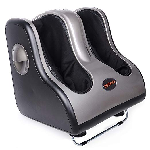 Shiatsu Foot Calf Massager Leg Massager with Kneading Rolling Vibration Heating 5