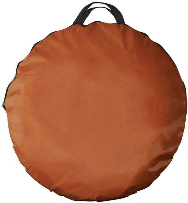 Tenda para bronzeamento a jato dobra facilmente em 30 segundos com bolsa de transporte7