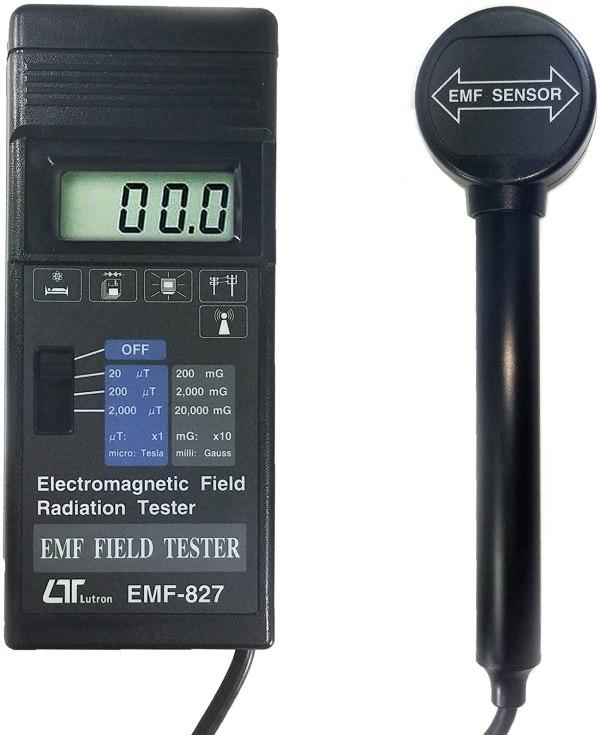 EMF-827 Eletromagnético Campo mTesla, EMF com separado Probe EMF827