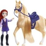 Boneca E Cavalo Easy Spirit Dreamworks- Maricela & Mystery